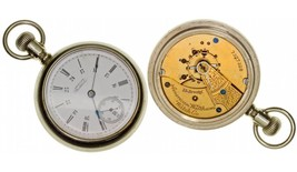 c1897 MA,Waltham-Middlesex County,18 Size 15J Waltham Pocket Watch - $325.00