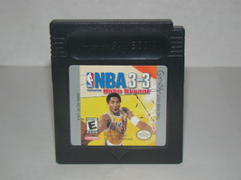 Nintendo Game Boy Color - NBA 3 on 3 feat Kobe Bryant (Game Only) - $8.00