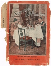 Vintage 1928 Book of The Normal Diet by W. D. Sansum - $8.00