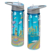 "Dr. Seuss ""Oh the places you'll go"" 18 oz Tritan Plastic Travel Water Bo... - $19.11"