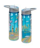 "Dr. Seuss ""Oh the places you'll go"" 18 oz Tritan Plastic Travel Water Bo... - $19.11"