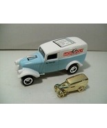 NWOB JOHNNY LIGHTNING MONOPOLY '33 WILLYS DIE-CAST PANEL VAN CONNECTICUT AVE  - $14.65