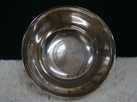 Reed & Barton: The World's Finest Silverplate #104 Silverplated Bowl, De... - $14.99