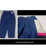 Elizabeth Essentials Blue Jeans NWT Women's Sz 18 Boyfriend Cuffed - $21.99