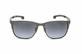 Carrera Men's Sunglasses CA 4014/GS V81/9O Ruthenium Black Grey NEW 58mm... - $64.30