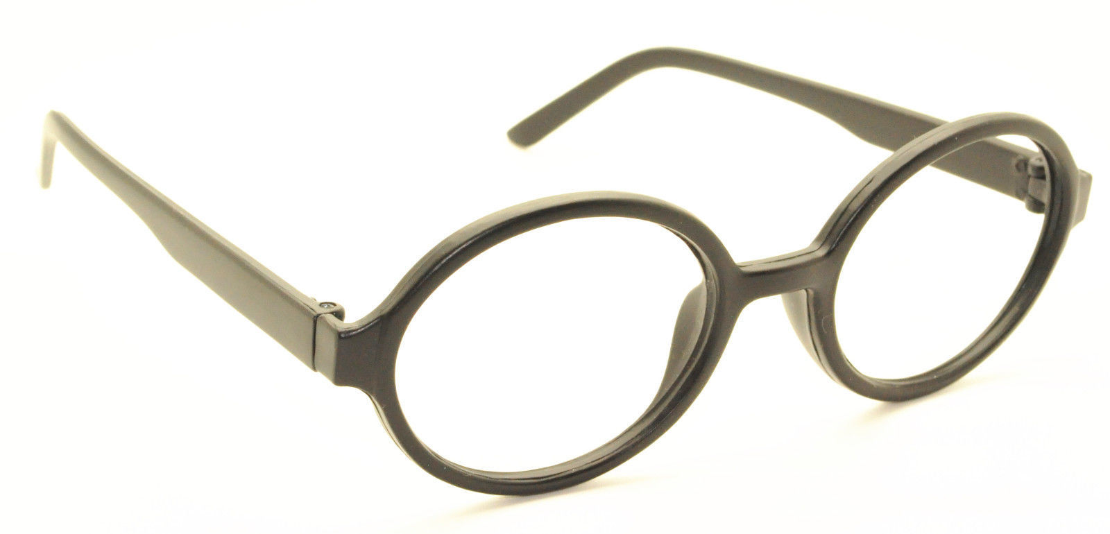 Geek Nerd Style Oval Round Shape Style Glasses Frames NO LENS Wizard Costume image 8