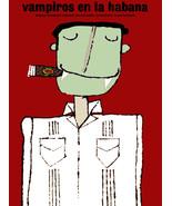 "20x30""Poster Decor.Room  art print.Vampire smoking Cuban cigar.6009 - $27.00"