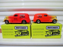 Matchbox 1995 Only Hershey Toy Show 1939 Chevy Sedan Delivery Van Nu In Mint Box - $22.99