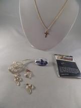 Necklace Brooch Earring Lot 1M1 - $9.89