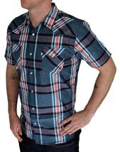 BRAND NEW LEVI'S MEN'S CLASSIC CASUAL PEARL BUTTON UP PLAID SHIRT 3LYSW6062-TUR image 3