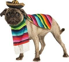 Rubies officielle mexicain sarape Pet Costume pour chien (M) - €30,48 EUR