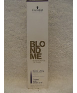 (Original) Schwarzkopf BLOND ME BLONDE LIFTING Up to 5 Levels Hair Color... - $5.24