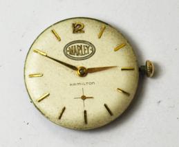 Hamilton Grade 730 17J Watch Movement For Parts or Repair Starts & Stops... - $55.43
