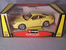Porsche 911 Carrera 1:18 scale diecast Burago Bburago Special Collection - $45.08