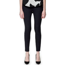 £30 MRP - (510) NWT Zara Black Faux Suede Leggi... - $26.01