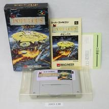 Nintendo Snes * Populoso en Caja Laboral Sfc Juegos 2003-138 - $20.93