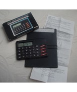 Vintage  20 Memory Data Bank Pocket Calculator Clock Telephone Numbers NIB - $14.99