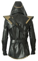 Avengers Endgame Ronin Jeremy Barton Hoodie Jacket/ Pants Real Leather Costume image 4