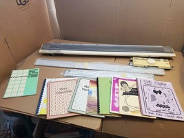 BROTHER KR-850 RIBBING ATTACHMENT KNITTING MACHINE WITH EXTRAS -MAGAZINE... - $467.49