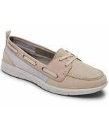 Womens Rockport Ayva Washable Boat Shoe - Vanilla/Pink, Size 7 US [CH9825] - $99.99