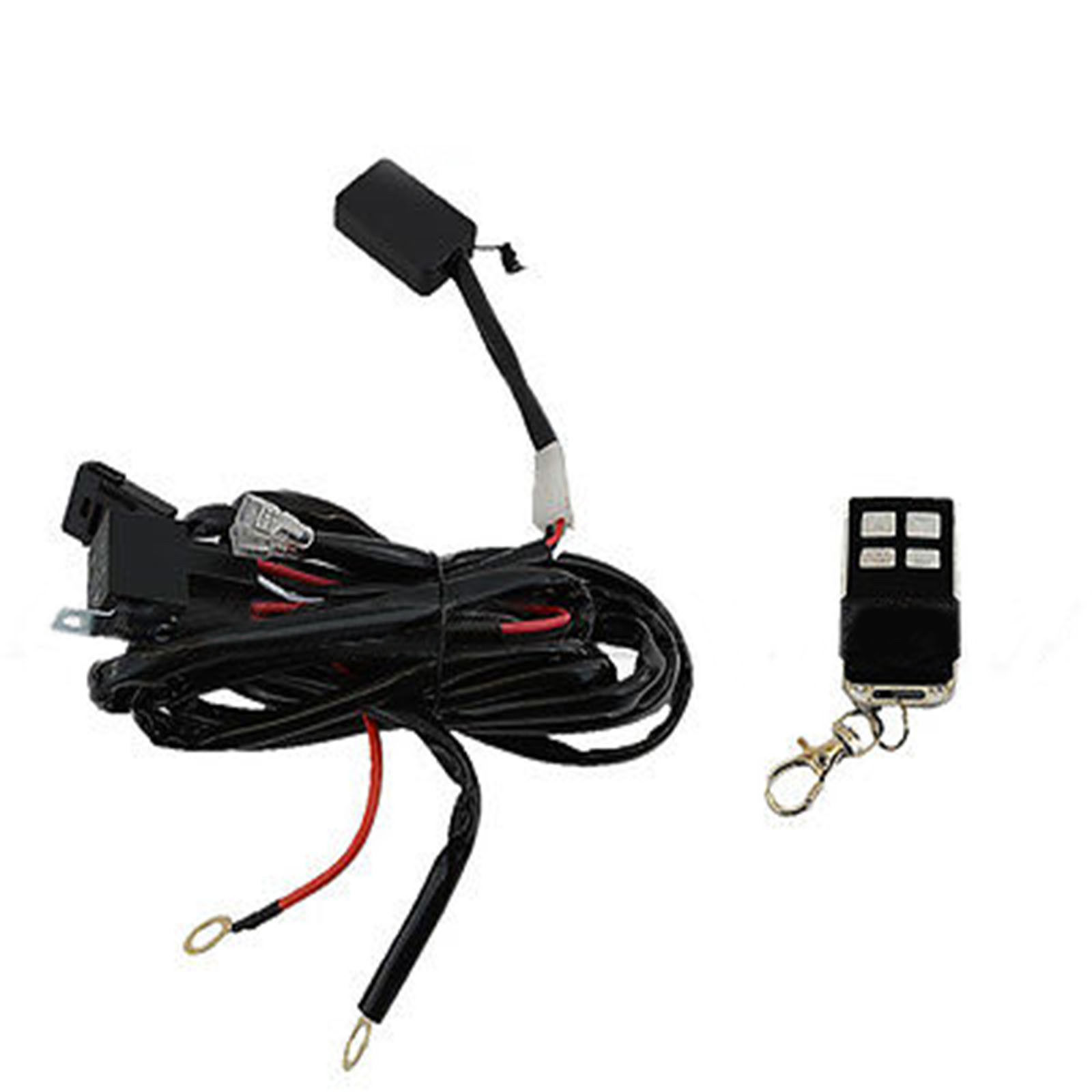 Universal Headlight Halo Drl Led Lights Lamp And 50 Similar Items Wiring Harness Key Fob Switch Kit