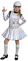 Rubie's Official Girl's Disney Star Wars Stormtrooper, Girls (8-10) Costume - $24.99