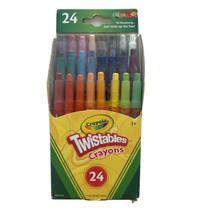 Crayola Mini Twistables Crayons 24 ct Assorted Colors - School Art Supplies New - $11.85