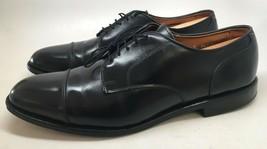 "Allen Edmonds ""Cortland"" Men's Black Leather Cap Toe Derby Oxfords Size 13B - $88.11"