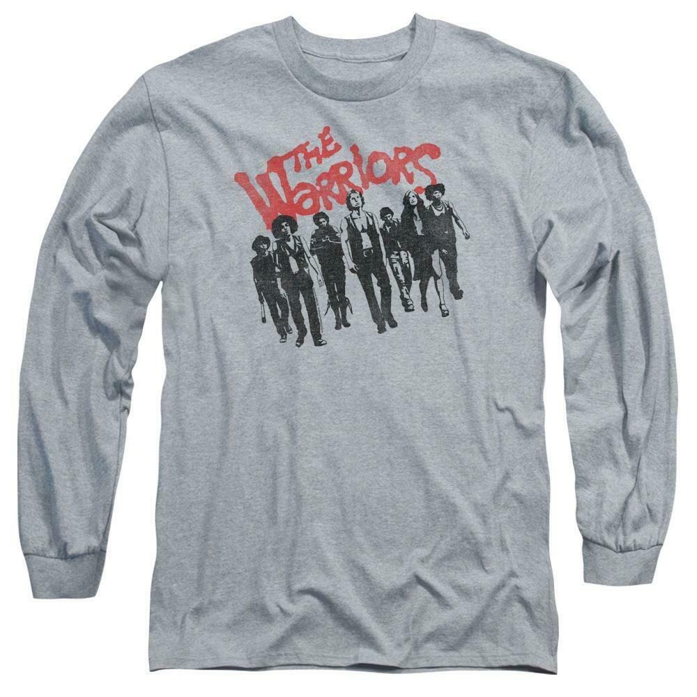 The Warriors T-shirt cult classic film 70s retro long sleeve graphic tee PAR494