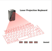 Bluetooth Laser Projection Virtual Keyboard Portable For Smartphone Tabl... - $824,01 MXN