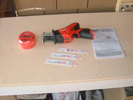 Milwaukee M12 2420-20 Hackzall, Bare Tool With 3 Blades And Shockwave Kit. New - $84.00
