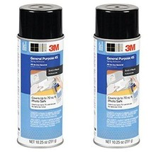 2-Pack 3M General Purpose 45 Spray Adhesive 10-1/4-Ounce - $28.14