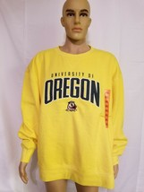 Rare Champion Elite Oregon Ducks Crewneck Sweatshirt Mens Size XXL 2XL Y... - $58.30