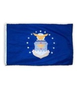 ALBATROS 3 ft x 5 ft Tradewinds Air Force Flag Nylon Flag USA with Clips... - $42.34