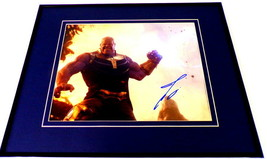 Josh Brolin Signed Framed 16x20 Photo Display AW Thanos Avengers Endgame - $215.04