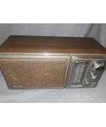 VINTAGE 1970 ERA SONY BASS REFLEX SYSTEM, FM AM 2 BAND,ICF 9580W - $39.58