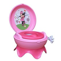 Potty Chair For Girls 3 In 1 Toilet Seat Kids Disney Training Stool Pink... - $27.71