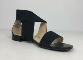 Nine West Black Crisscross Sandals Size 8M - $12.34