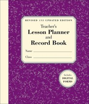 The Teacher's Lesson Planner and Record Book (Other) Paperback - $23.78