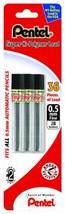 Pentel Super Hi-Polymer Lead Refill 0.5mm Fine, 2B, 36 Pieces of Lead C5... - $6.15