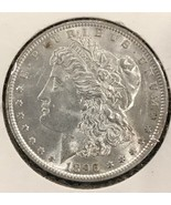 1896-P Morgan Silver Dollar Choice Uncirculated  A68 - $46.53