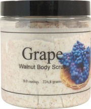 Grape Walnut Body Scrub - $18.42+