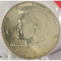 1981-D Kennedy Half Dollar MS65 Still in Cello #0474 - $5.79