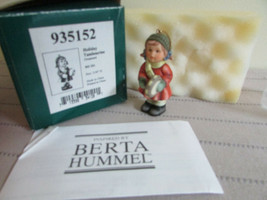 "GOEBEL BERTA HUMMELL #935152 HOLIDAY TAMBOURINE ORNAMENT 3""  MIB  - $14.80"