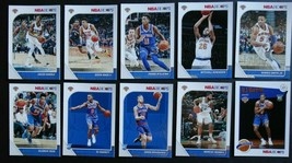 2019-20 Panini NBA Hoops New York Knicks Base Team Set of 10 Basketball ... - $11.99