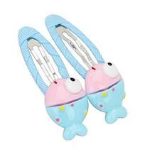 [Fish-2] 6 Pairs Cute Hair Clip Baby Girls Hair Clip Princess Hair Barre... - $13.15