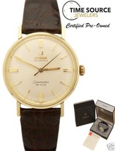 Omega Seamaster De Ville Automatic Gold Capped 34mm 1970 Box & Papers Watch - $1,058.25