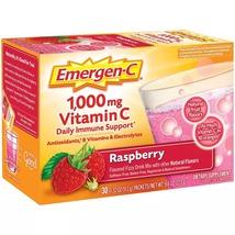 Emergen-C 1000 mg Vitamin C Daily Immune Support Raspberry, 30 Ct - $19.99