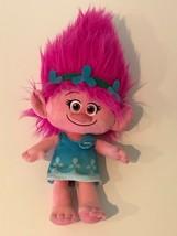 "Trolls Movie Poppy Pink Hair Girl Plush Dreamworks Troll 17"" Stuffed Animal  - $14.99"