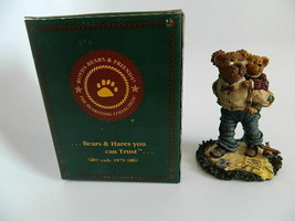 NIB 2000 Boyds Bears & Friends Style #228341SYN Grandpa McBruin with Brian...  - $19.99